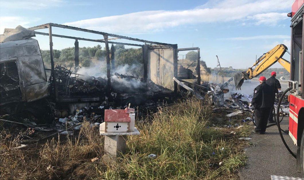 Τραγικό τροχαίο: Έντεκα μετανάστες κάηκαν ζωντανοί στην Καβάλα (φώτο) - Κυρίως Φωτογραφία - Gallery - Video
