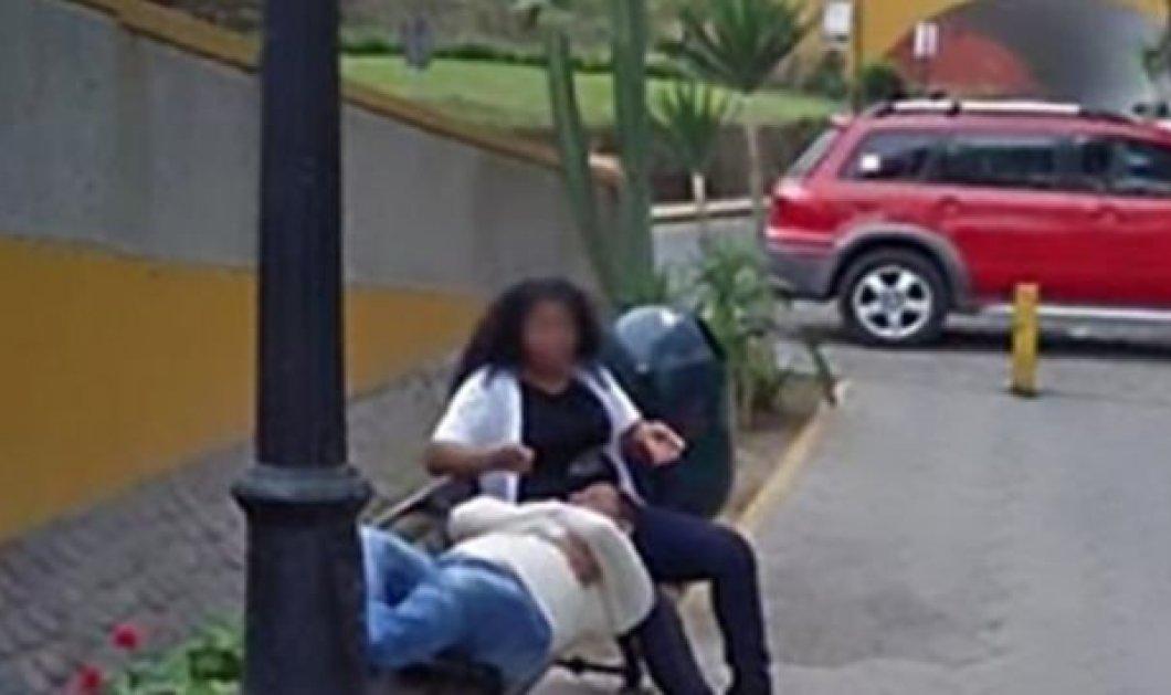 Ο δύσμοιρος έψαχνε κάτι στο Google Maps και βρήκε τη γυναίκα του με το τρίτο πρόσωπο (Φωτό) - Κυρίως Φωτογραφία - Gallery - Video