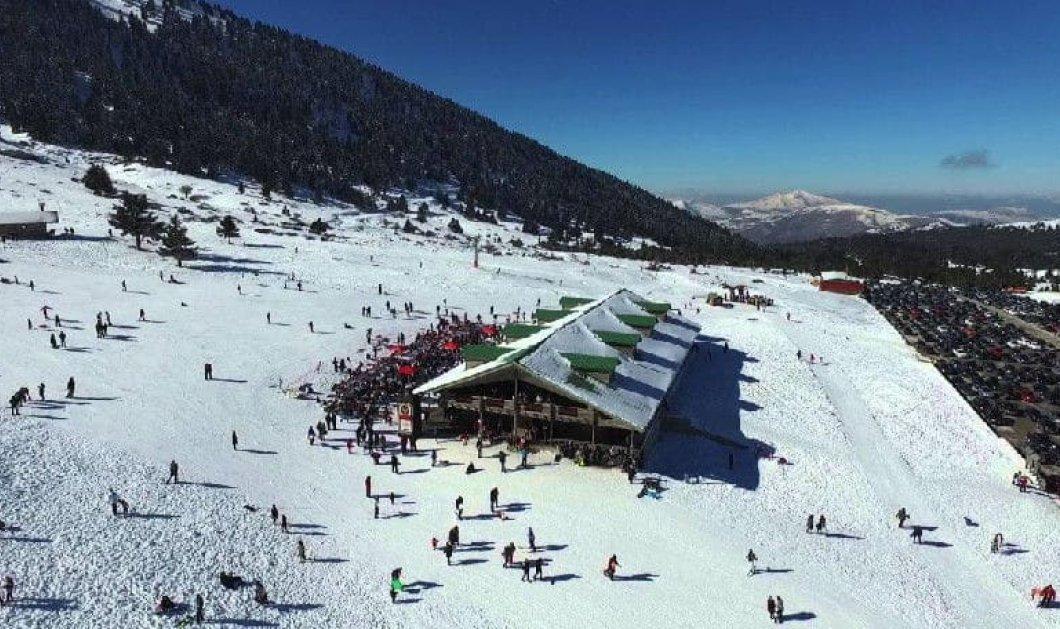 Καλάβρυτα: Μαγικός ορεινός προορισμός με χιονισμένες βουνοκορφές για ανεπανάληπτες στιγμές στην πόλη & στο χιονοδρομικό κέντρο - Κυρίως Φωτογραφία - Gallery - Video