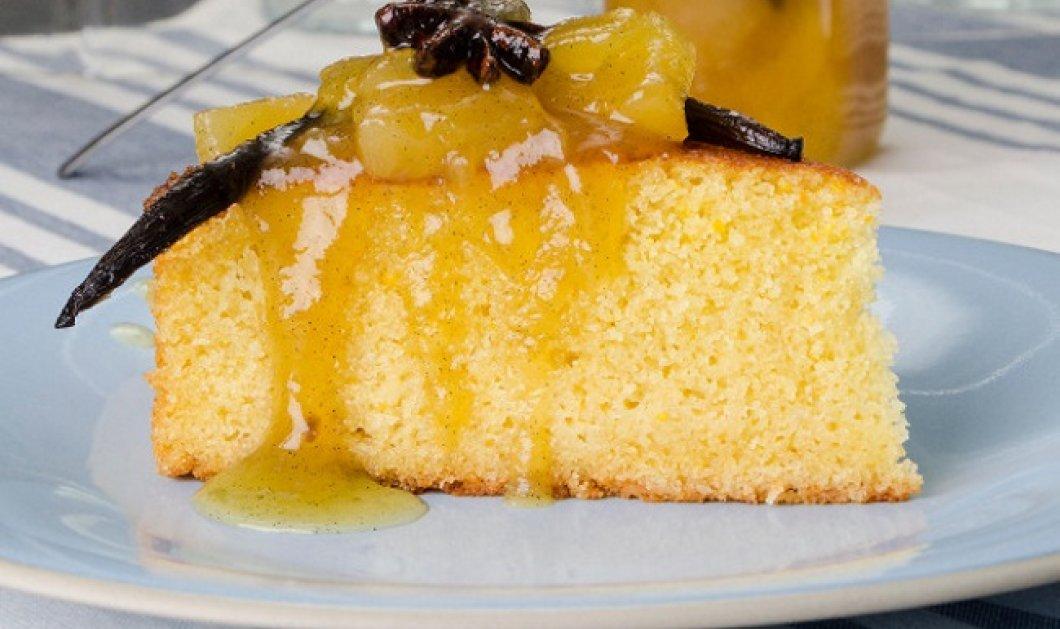 Πεντανόστιμο κέικ λαδιού με σιμιγδάλι από τον Στέλιο Παρλιάρο - Κυρίως Φωτογραφία - Gallery - Video