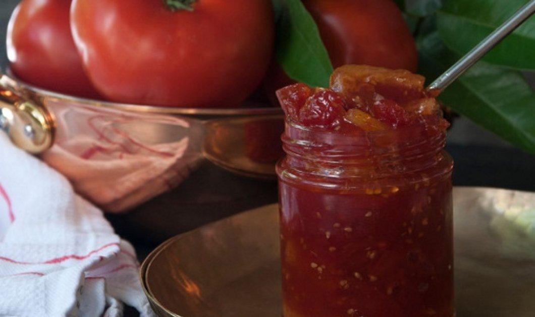 Πανεύκολη μαρμελάδα ντομάτας με φέτες λεμονιού από τον Στέλιο Παρλιάρο - Κυρίως Φωτογραφία - Gallery - Video