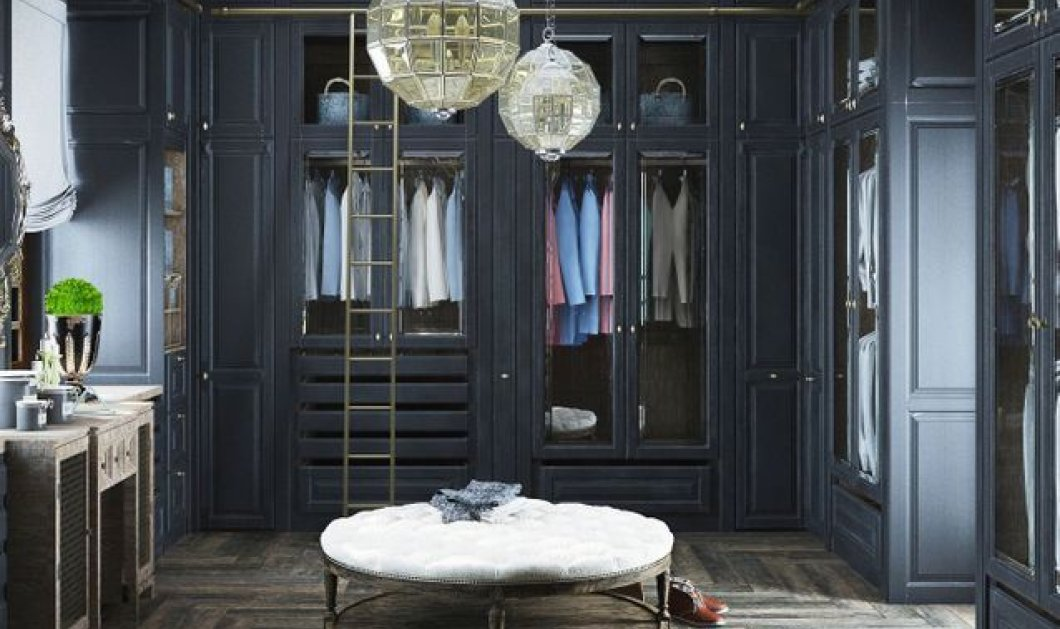 15 ονειρικά dressings - δωμάτια για την γκαρνταρόμπα σας (φωτό) - Κυρίως Φωτογραφία - Gallery - Video