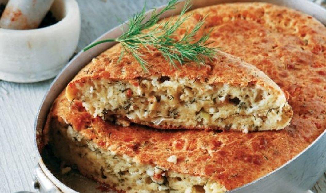 Αργυρώ Μπαρμπαρίγου: Πανεύκολη τυρόπιτα χωρίς φύλλο για το μεσημεριανό σου τραπέζι - Κυρίως Φωτογραφία - Gallery - Video