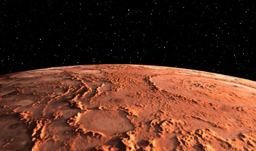 Ο Άρης μπορεί να κρύβει οξυγόνο σε υπόγειους θύλακες νερού υποστηρίζει νέα μελέτη - Κυρίως Φωτογραφία - Gallery - Video