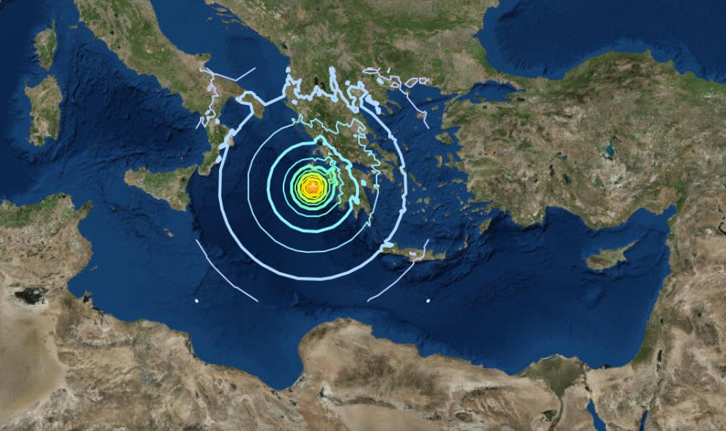 Νέο βίντεο από τη στιγμή του σεισμού μεγέθους 6,4 Ρίχτερ στην Ζάκυνθο - Κυρίως Φωτογραφία - Gallery - Video