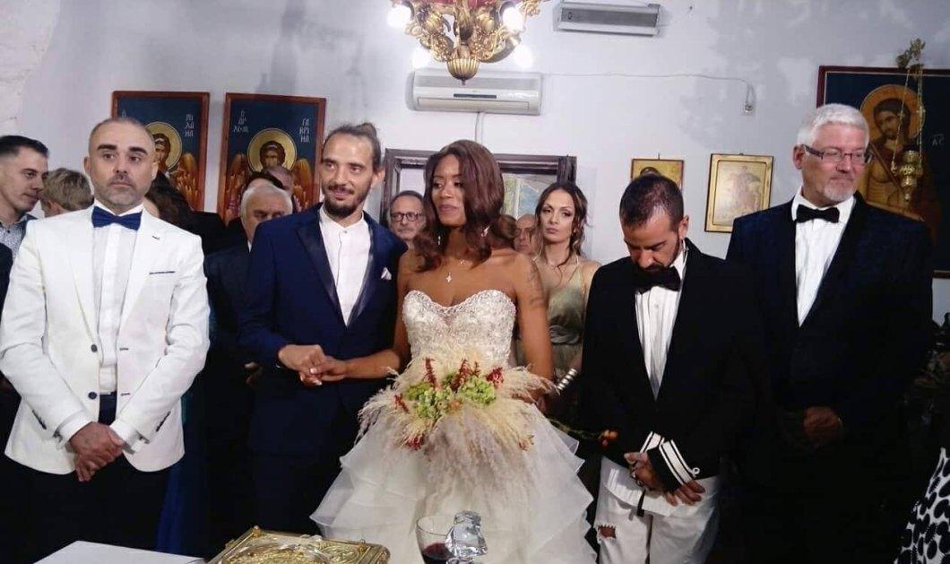 Shaya: Δείτε τα πρώτα στιγμιότυπα από τον γάμο της στη Λευκάδα - Εντυπωσιακό νυφικό (Φωτό & Βίντεο) - Κυρίως Φωτογραφία - Gallery - Video