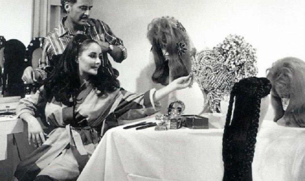 Vintage pic:Όταν ο Alexandre de Paris ο διασημότερος κομμωτής του Χόλιγουντ χτένιζε την Ελίζαμπεθ Τέιλορ (φώτο) - Κυρίως Φωτογραφία - Gallery - Video