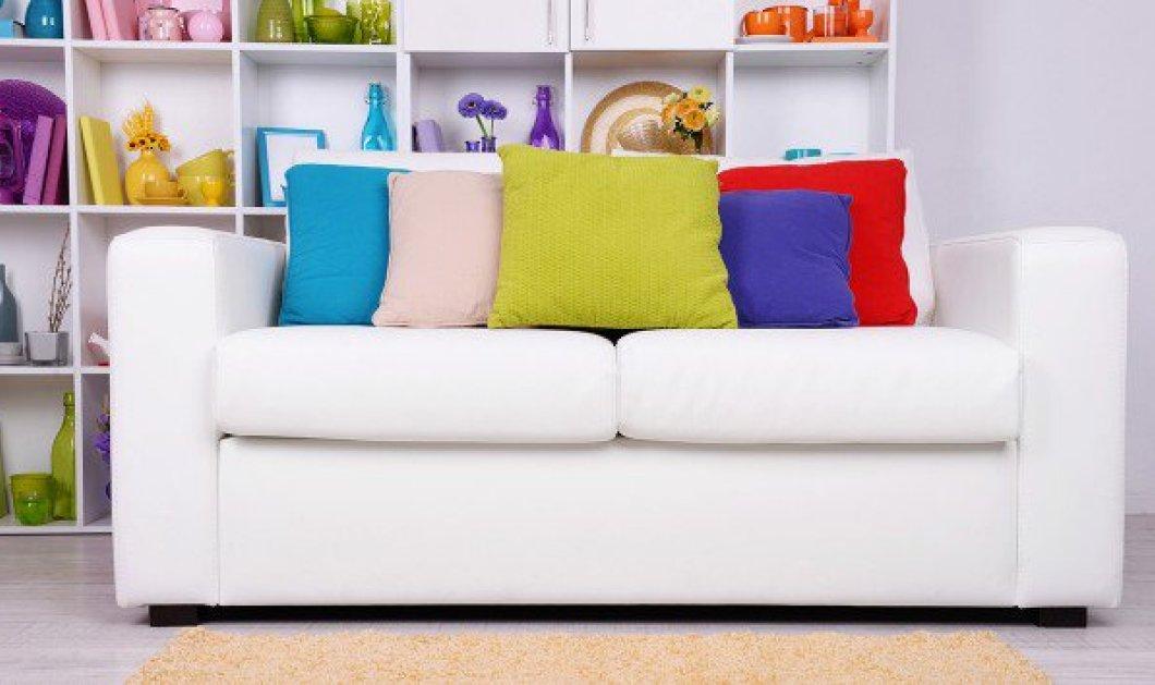 7 τρόποι για να γίνει ο καναπές σας σημείο αναφοράς στην διακόσμηση του σπιτιού σας - Από τον Σπύρο Σούλη - Κυρίως Φωτογραφία - Gallery - Video