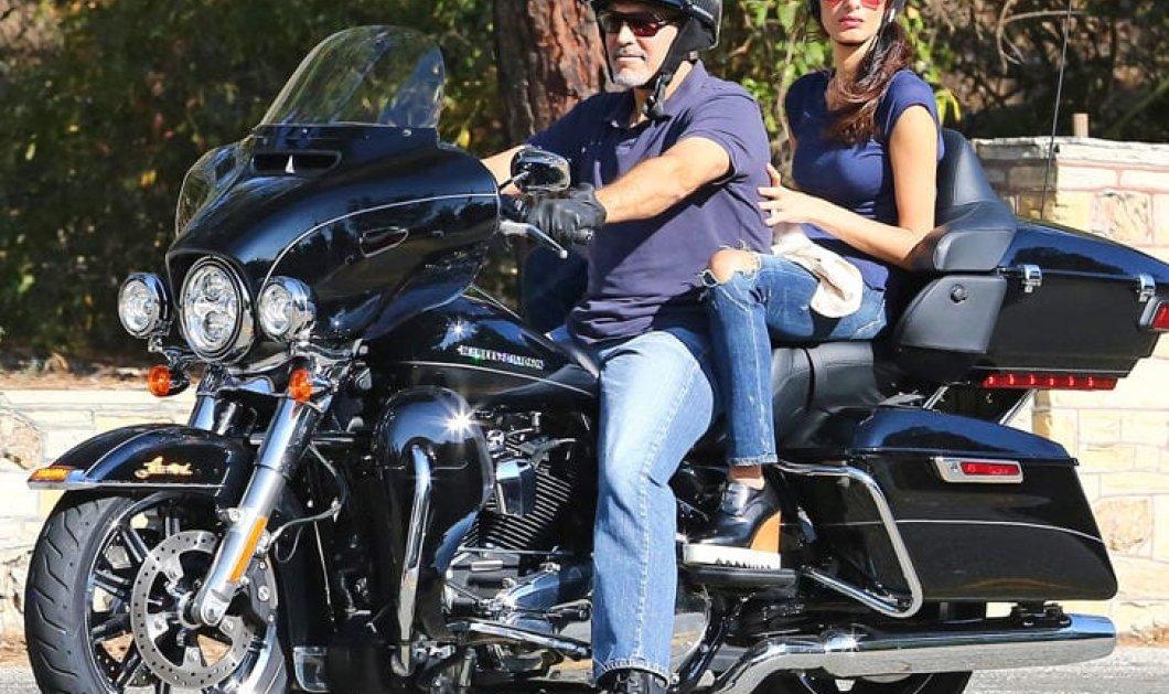 Στο σφυρί η Harley-Davidson του Τζορτζ Κλούνεϊ  - Τι απαγόρευσε η Άμαλ Αλαμουντίν στον άνδρα της - Κυρίως Φωτογραφία - Gallery - Video