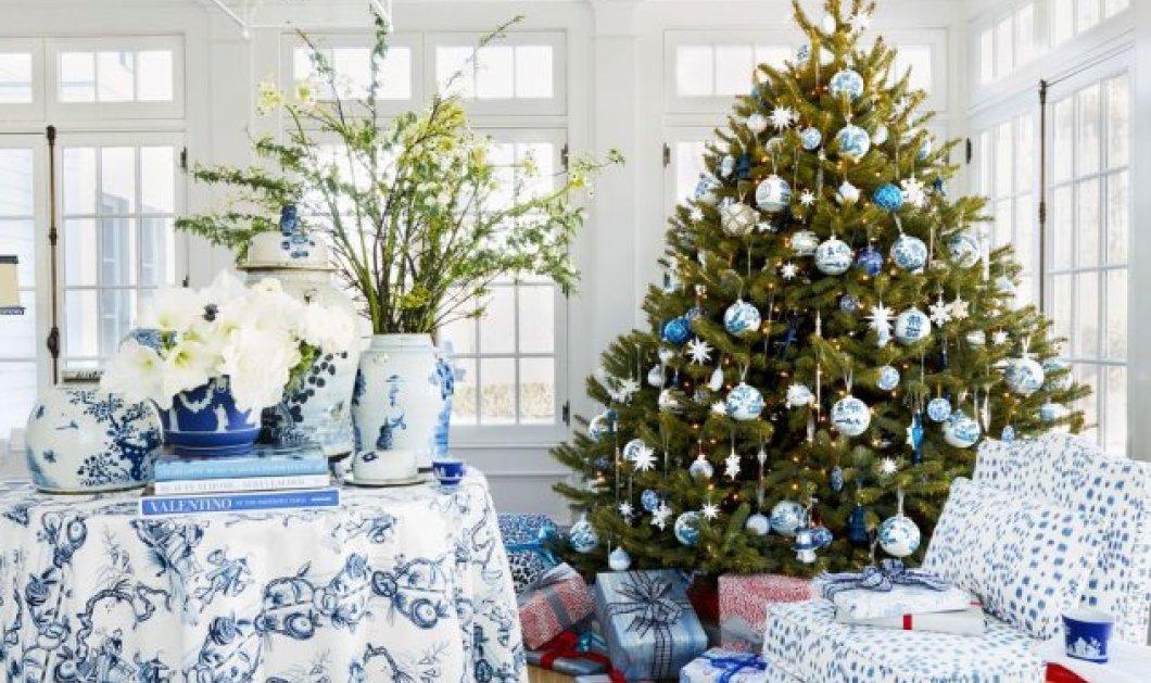 50 απίθανες ιδέες για το Χριστουγεννιάτικο δέντρο σας: Υπέροχα χρώματα & λαμπερά στολίδια - Φώτο   - Κυρίως Φωτογραφία - Gallery - Video