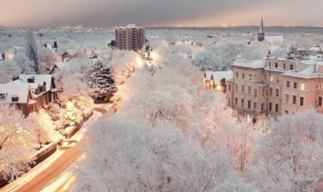 20 εικόνες με χιονισμένα τοπία διάσημα σαν τον Πύργο του Άιφελ ή άγνωστα αλλά συναρπαστικά κατάλευκα & ρομαντικά! (φωτό) - Κυρίως Φωτογραφία - Gallery - Video