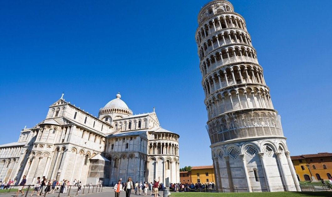 Περίεργο! Ο πύργος της Πίζας αρχίζει και ισιώνει...  - Κυρίως Φωτογραφία - Gallery - Video