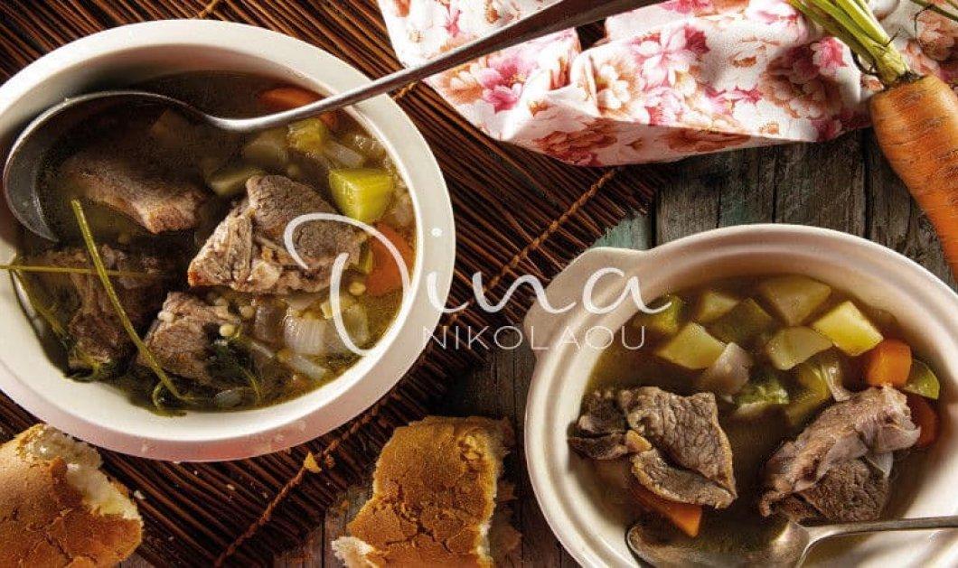 Ντίνα Νικολαόυ: Μία από τις πιο χορταστικές & θρεπτικές σούπες με κρέας για το χειμώνα - Κυρίως Φωτογραφία - Gallery - Video