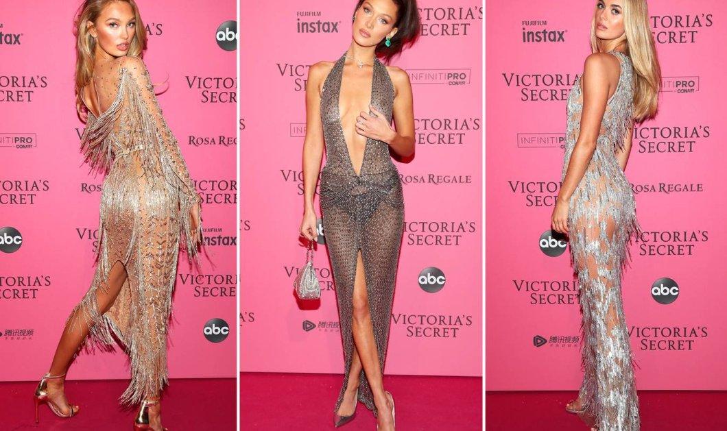 Φώτο: Πως ντύθηκαν ή μάλλον γδύθηκαν τα κορίτσια για να πάνε στο after πάρτι του Victoria Secret Show 2018    - Κυρίως Φωτογραφία - Gallery - Video