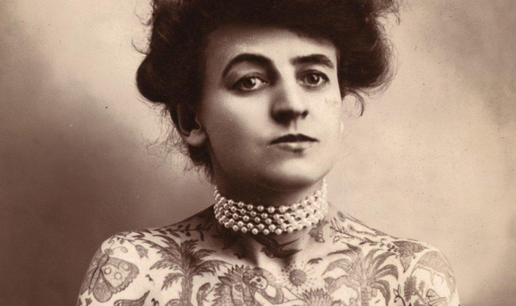 Αυτή ήταν η πρώτη γυναίκα tattoo artist στην Αμερική το 1907 -  Γεμάτη τατουάζ η πρωτοπόρος ροκ γιαγιά (φωτό) - Κυρίως Φωτογραφία - Gallery - Video