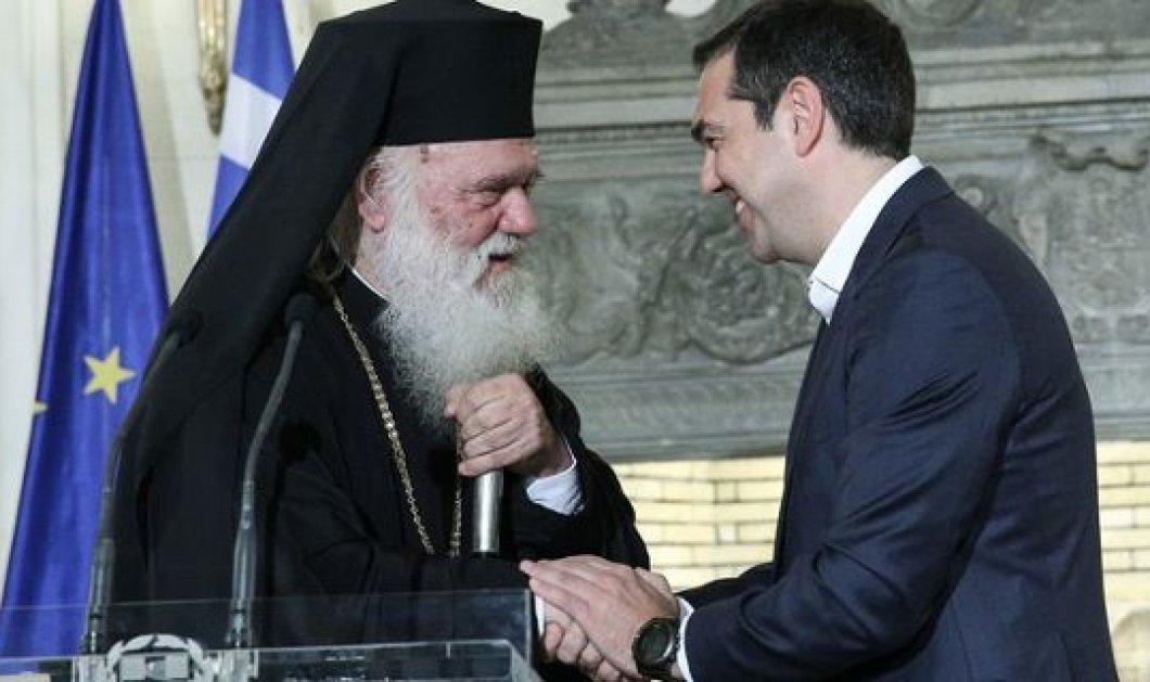 Τι ακριβώς προβλέπει η συμφωνία Τσίπρα - Ιερώνυμου για τις σχέσεις Κράτους-Εκκλησίας - Κυρίως Φωτογραφία - Gallery - Video