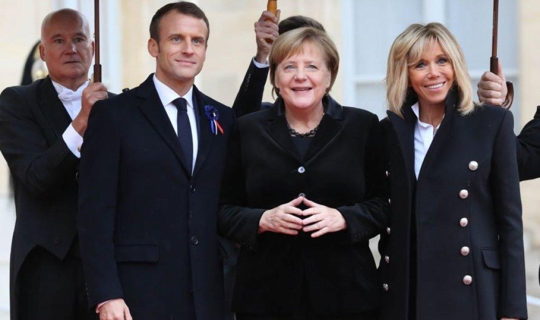Ηλικιωμένη Γαλλίδα πέρασε την Άνγκελα Μέρκελ για την Μπριζίτ Τρονιέ: Η αντίδραση της Γερμανίδας Καγκελάριου (Βίντεο) - Κυρίως Φωτογραφία - Gallery - Video