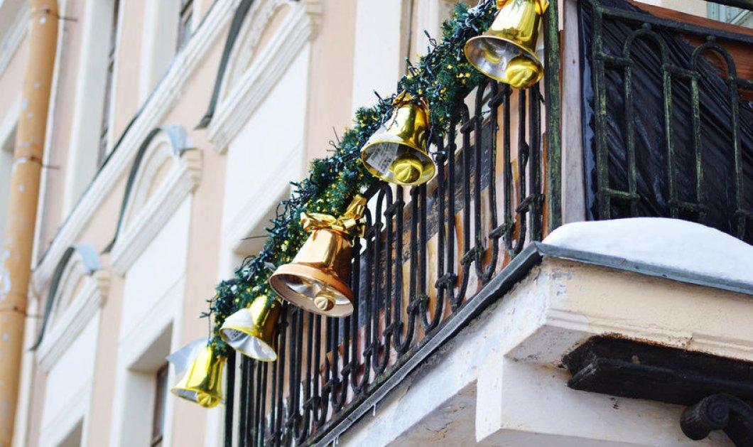 Δείτε υπέροχες ιδέες για το πως μπορείτε να διακοσμήσετε το μπαλκόνι σας φέτος τα Χριστούγεννα (φωτό) - Κυρίως Φωτογραφία - Gallery - Video