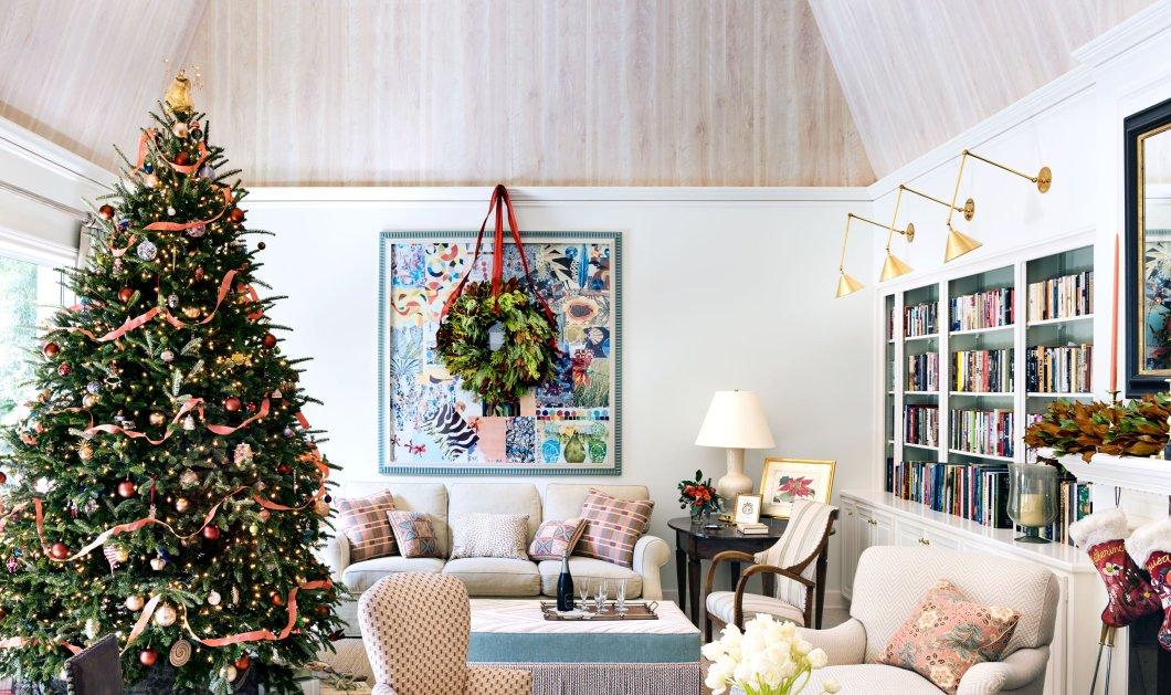 Δείτε τα 10 πιο glamorous χριστουγεννιάτικα δέντρα - Υπέροχα χρώματα, μοναδικά στολίδια και κομψότητα (Φωτό) - Κυρίως Φωτογραφία - Gallery - Video