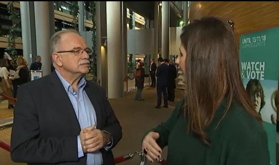 Αποστολή στο Στρασβούργο - Τι μου είπε ο Δημ. Παπαδημούλης: «Θα ξαναφτάσουμε την Ελλάδα στο προ μνημονίων επίπεδο, χωρίς φούσκες» (Φωτό & Βίντεο) - Κυρίως Φωτογραφία - Gallery - Video