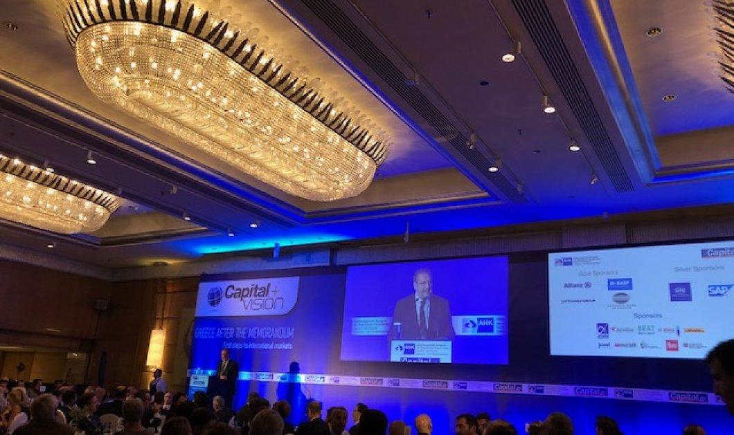 Στέργιος Πιτσιόρλας στο Ελληνογερμανικό Επιμελητήριο: «Οι άμεσες ξένες επενδύσεις έχουν σημειώσει ρεκόρ τα τελευταία δύο χρόνια» (Φωτό) - Κυρίως Φωτογραφία - Gallery - Video