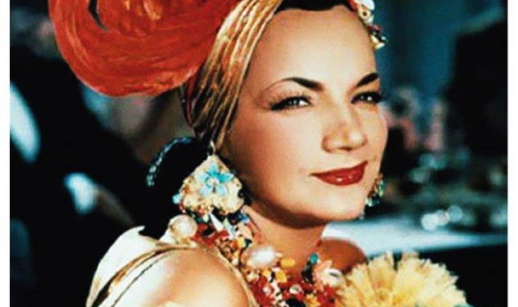 Vintage Story: Κάρμεν Μιράντα, η συναρπαστική ζωή & το τέλος στα 46 της Βραζιλιάνας σεξοβόμβας - Η πιο ακριβοπληρωμένη στο Χόλυγουντ, έμαθε τον πλανήτη να χορεύει σάμπα - Κυρίως Φωτογραφία - Gallery - Video