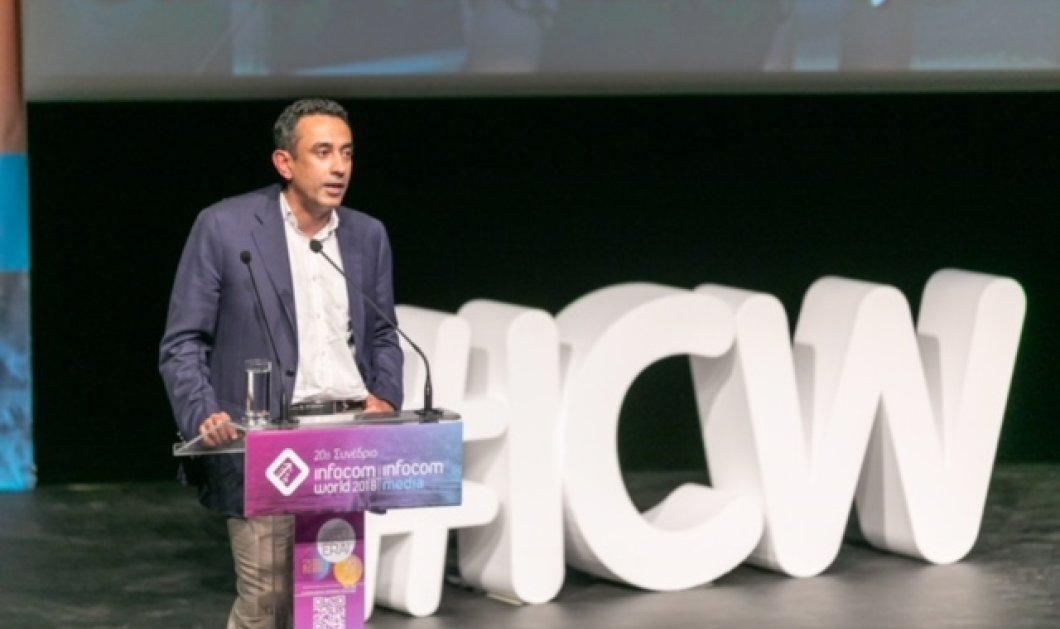 Srini Gopalan: H Deutsche Telekom επενδύει για να εξασφαλίσει τη μετάβαση στην Κοινωνία των Gigabit   - Κυρίως Φωτογραφία - Gallery - Video