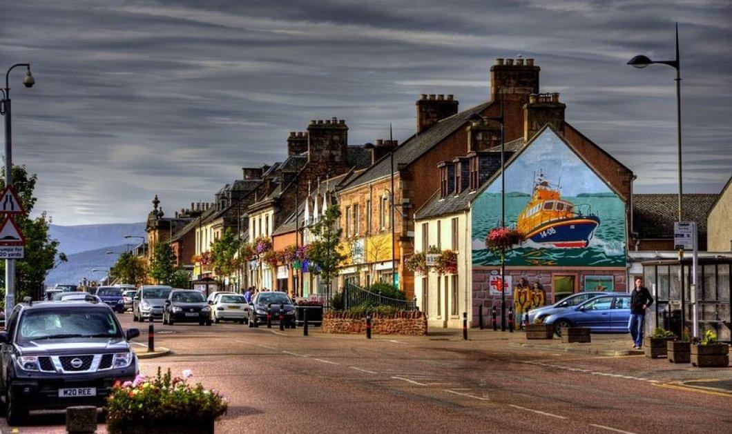 Γκράφιτι μεταμορφώνουν πόλη της Σκωτίας σε… έκθεση ζωγραφικής! Φώτο  - Κυρίως Φωτογραφία - Gallery - Video