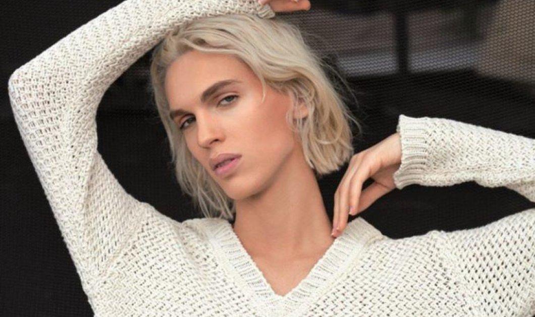 Καίτη Γκραμμά, το πρώτο transgender μοντέλο στην Ελλάδα: «Λυτρώθηκα αλλά πέρασα μια επώδυνη διαδικασία» (Βίντεο) - Κυρίως Φωτογραφία - Gallery - Video