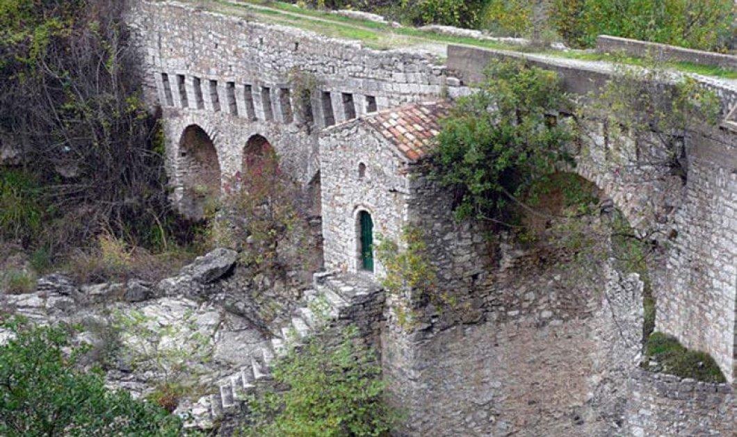Γέφυρα Καρύταινας: Το ιστορικό πέτρινο γεφύρι που κοσμούσε το Πεντοχίλιαρο (Βίντεο) - Κυρίως Φωτογραφία - Gallery - Video