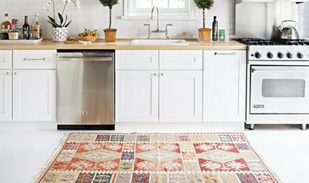5 χαλιά που θα αλλάξουν τελείως το στυλ της κουζίνας σου (φωτό) - Κυρίως Φωτογραφία - Gallery - Video