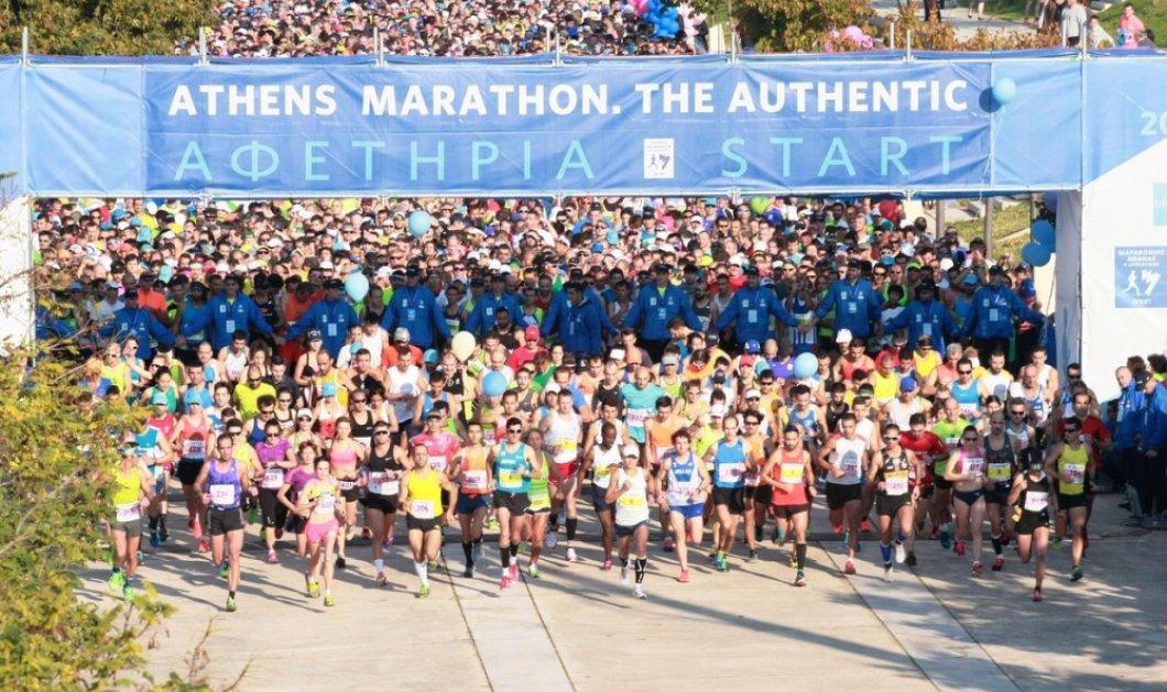 Έρχεται ο 36ος Αυθεντικός Μαραθώνιος της Αθήνας: Η μεγάλη γιορτή του αθλητισμού σε αριθμούς - Κυρίως Φωτογραφία - Gallery - Video