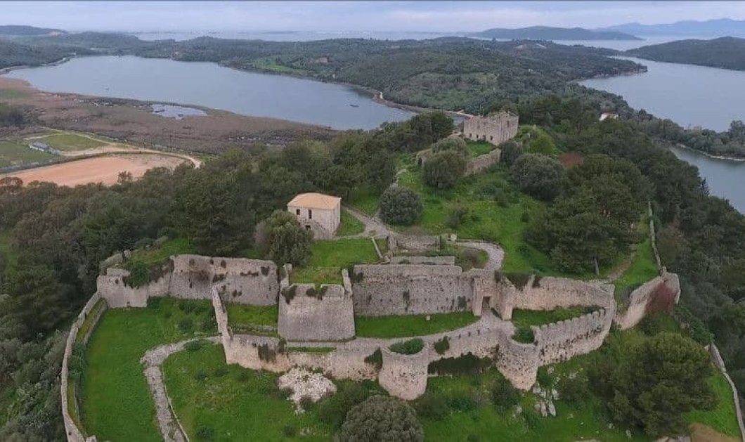 Το Κάστρο της Βόνιτσας επιβλητικό & αγέρωχο σε ένα υπέροχο βίντεο με όλη του την ομορφιά από ψηλά - Κυρίως Φωτογραφία - Gallery - Video