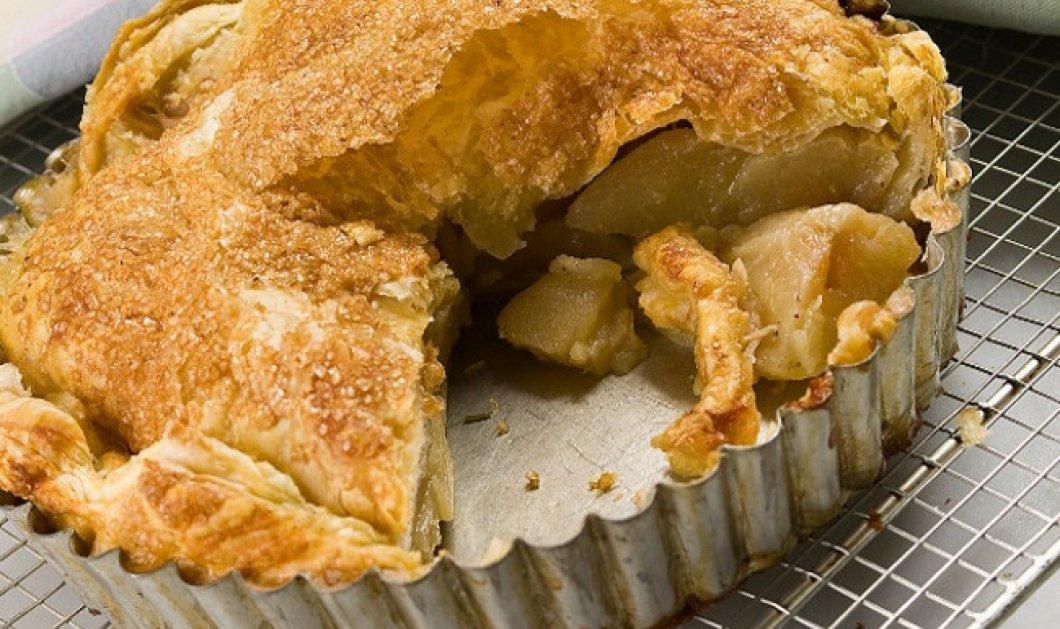Πανεύκολη ζεστή μηλόπιτα με σφολιάτα δια χειρός Στέλιου Παρλιάρου - Κυρίως Φωτογραφία - Gallery - Video