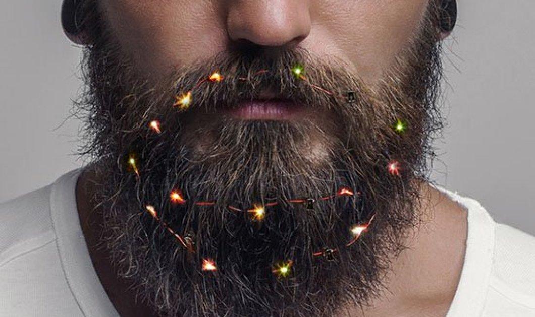Έχετε μούσια; Ιδού λαμπάκια για να τα μετατρέψετε σε χριστουγεννιάτικο δέντρο ή να το γιορτάσετε, βρε αδελφέ (Φωτό) - Κυρίως Φωτογραφία - Gallery - Video