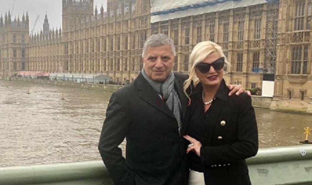 Γιώργος & Μαρίνα Πατούλη: Ερωτευμένοι ξανά στο χριστουγεννιάτικο Λονδίνο (φώτο) - Κυρίως Φωτογραφία - Gallery - Video