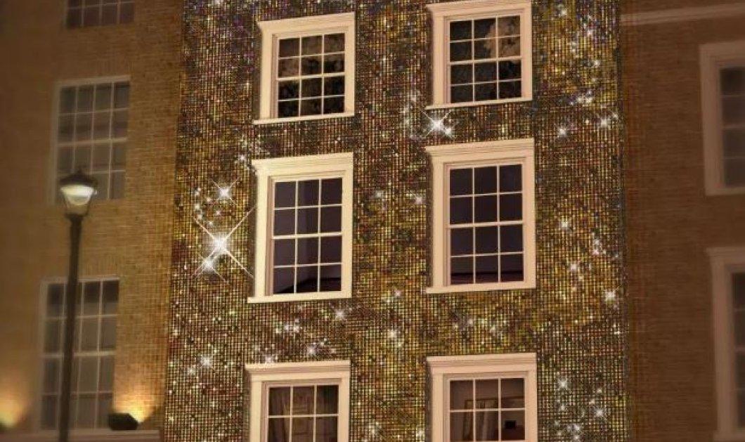 Είναι γεγονός! Το πρώτο glitter ξενοδοχείο άνοιξε στο Λονδίνο και περιμένει τους επισκέπτες για μια μοναδική εμπειρία (φωτό) - Κυρίως Φωτογραφία - Gallery - Video