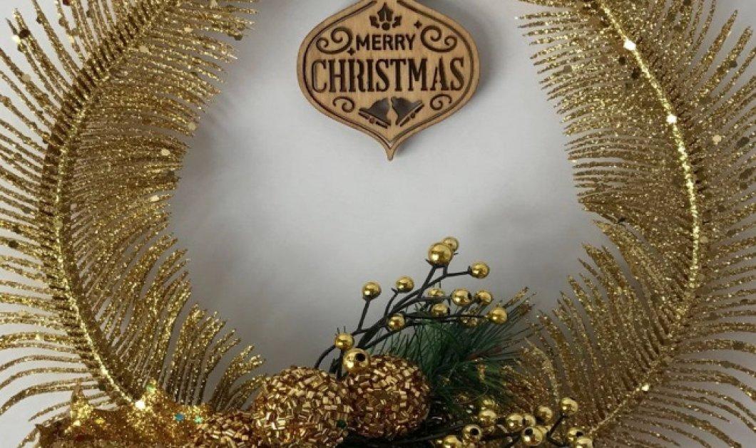 20 χριστουγεννιάτικα στεφάνια για να διακοσμήσετε κάθε γωνία του σπιτιού σας: Από μπαλόνια και γιρλάντες έως λουλούδια και φελλούς! (Φωτό) - Κυρίως Φωτογραφία - Gallery - Video
