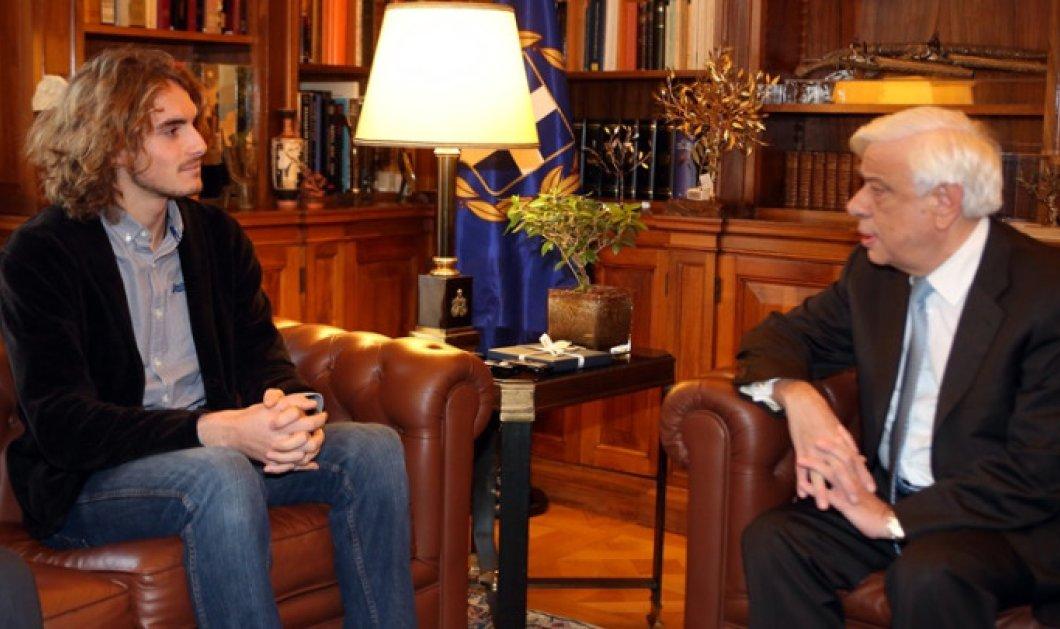Στέφανος Τσιτσιπάς: «Θέλω να εκπροσωπήσω την Ελλάδα στους Ολυμπιακούς Αγώνες το 2020» - Κυρίως Φωτογραφία - Gallery - Video