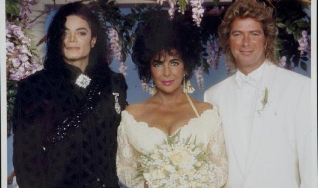 Vintage Story: Όταν το 1991 η Ελίζαμπεθ Τέιλορ ερωτεύτηκε κεραυνοβόλα έναν όμορφο οικοδόμο και τον παντρεύτηκε με κουμπάρο τον protegé της Μάικλ Τζάκσον - Κυρίως Φωτογραφία - Gallery - Video