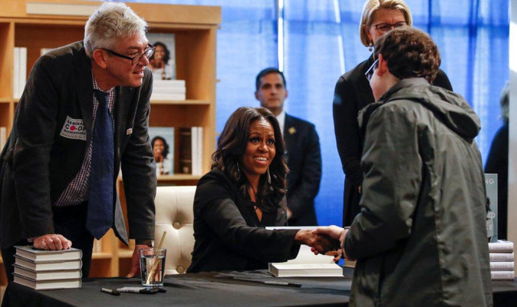 Τοp & superwoman η Μισέλ Ομπάμα πουλάει το βιβλίο της 9 αντίτυπα το δευτερόλεπτο! Ρεκόρ για την πρώτη κυρία - Κυρίως Φωτογραφία - Gallery - Video