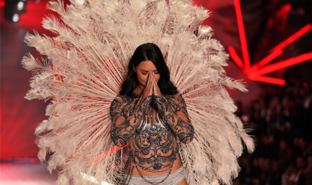 Τα δάκρυα της Αντριάνας Λίμα στην τελευταία της πασαρέλα ως «αγγελάκι» της Victoria's Secret - Κυρίως Φωτογραφία - Gallery - Video