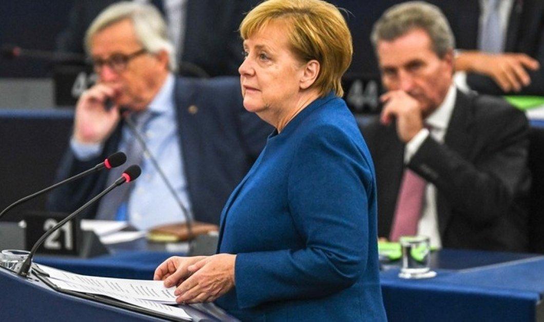 Άνγκελα Μέρκελ: Ομιλία στο Ευρωπαϊκό Κοινοβούλιο στο Στρασβούργο - Τάχθηκε υπέρ ενός «αληθινού ευρωπαϊκού στρατού» (φωτό & βίντεο) - Κυρίως Φωτογραφία - Gallery - Video