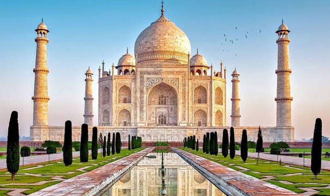Ταζ Μαχάλ: Πενταπλασιάστηκε το εισιτήριο για να «προστατευθεί» από τους τουρίστες - Κυρίως Φωτογραφία - Gallery - Video