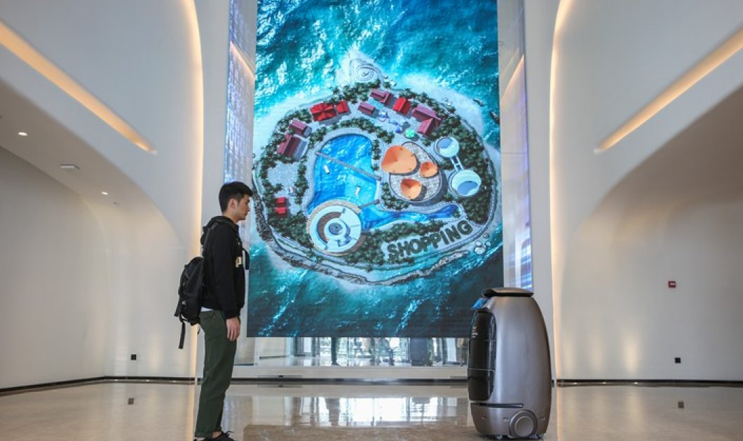 Άνοιξε έξυπνο ξενοδοχείο του Alibaba: Κάνεις check in με αναγνώριση προσώπου – Ρομπότ στα φώτα και το service (βίντεο) - Κυρίως Φωτογραφία - Gallery - Video