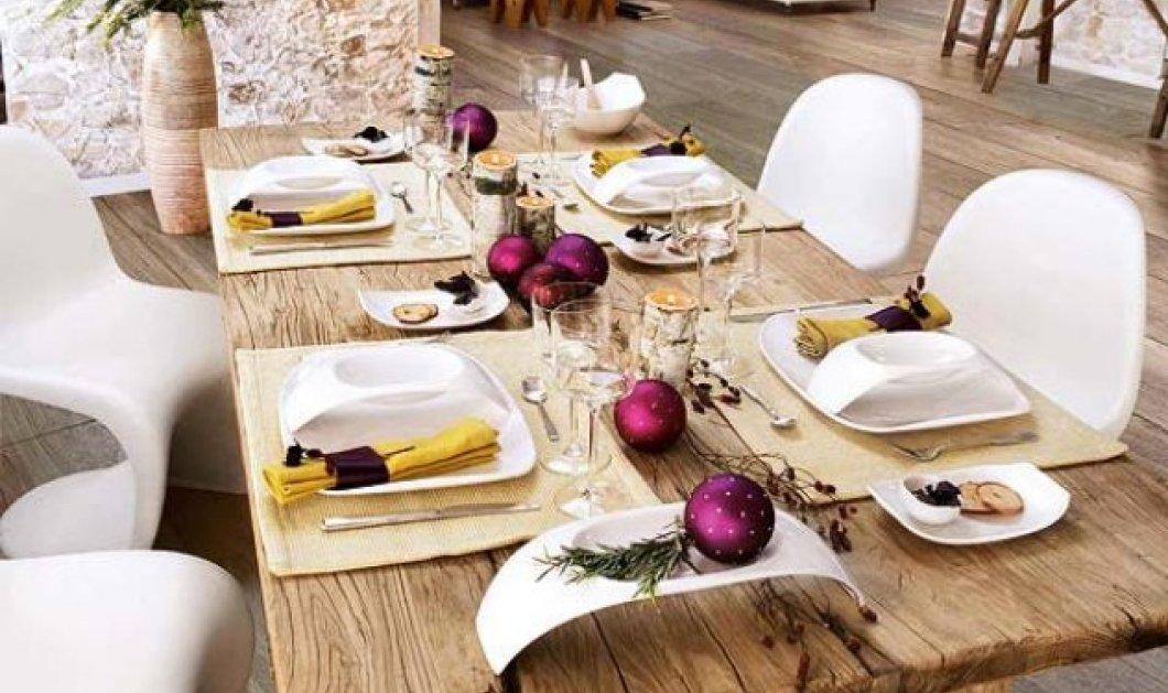 Χριστούγεννα: Εύκολες & φθηνές προτάσεις για να διακοσμήσετε μόνοι σας το τραπέζι των γιορτών - Φώτο - Κυρίως Φωτογραφία - Gallery - Video
