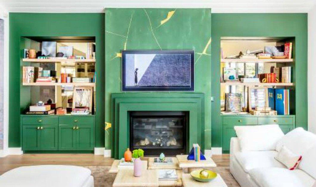 Ο Σπύρος Σούλης βάζει πράσινες πινελιές σε κάθε σαλόνι και το απογειώνει - Φώτο  - Κυρίως Φωτογραφία - Gallery - Video