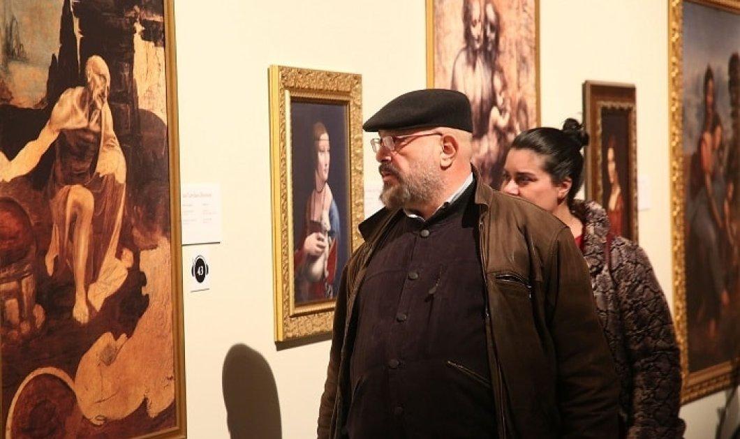 Λαμπερά εγκαίνια για τη μεγαλειώδη έκθεση «Leonardo Da Vinci – 500 Years Of Genius» - Κυρίως Φωτογραφία - Gallery - Video