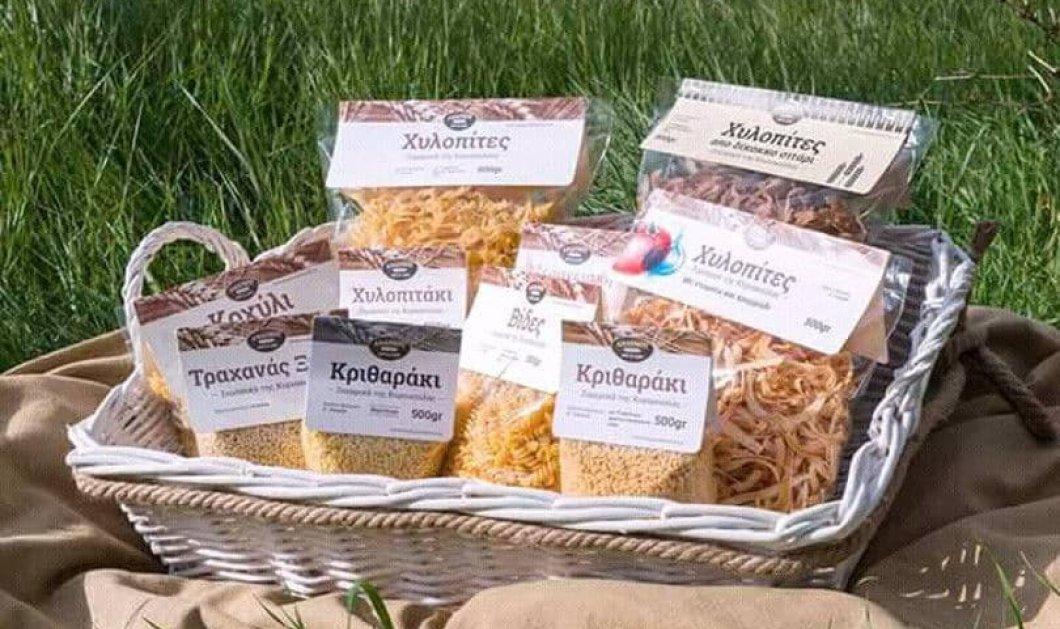 Made in Greece τα αγνά ζυμαρικά της κας Κυριακούλας: Mε κατσικίσιο τυρί, δίκοκκο σιτάρι, ντομάτα ή σπανάκι - Κυρίως Φωτογραφία - Gallery - Video