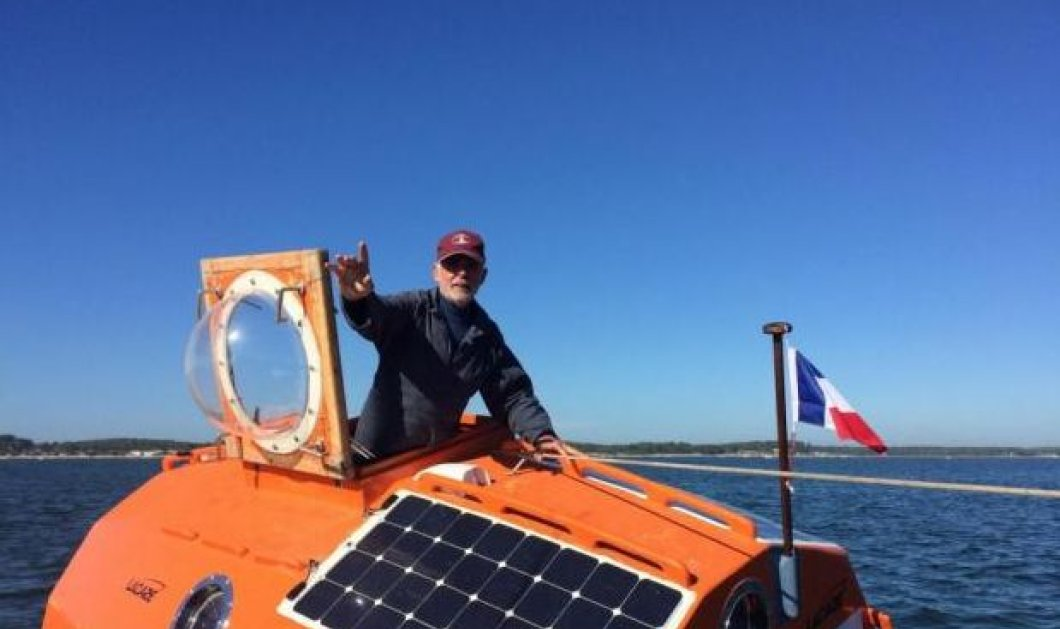 Story of the day: Γάλλος θα διασχίσει τον Ατλαντικό με μόνη βοήθεια ένα βαρέλι και τα... κύματα! - Κυρίως Φωτογραφία - Gallery - Video